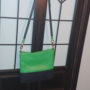 kate spade Bags - Sale❗Authentic Kate Spade green & blue crossbody